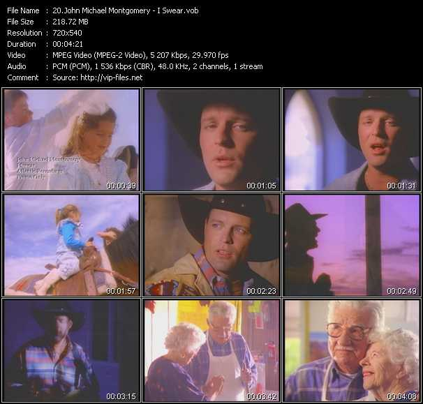 Download John Michael Montgomery Country Music Videos: John Michael